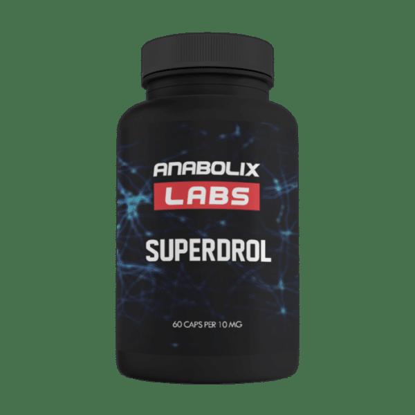 SUPERDROL 60 kaps 10 mg 160 zł